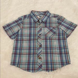 ON Toddler Boy Button Down Shirt
